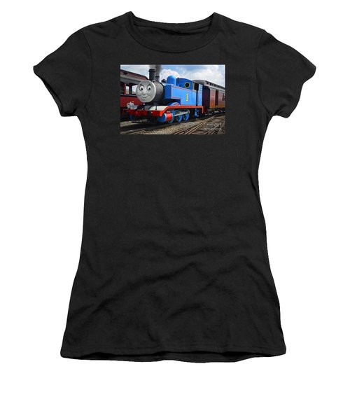 Thomas The Engine Women's T-Shirt (Athletic Fit)