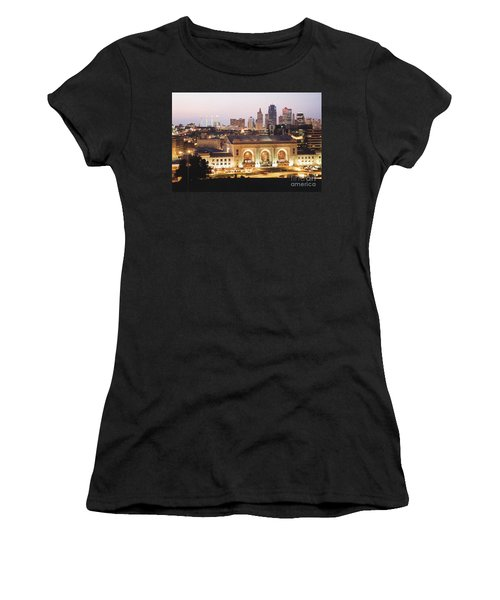 Union Station Evening Women's T-Shirt (Athletic Fit)