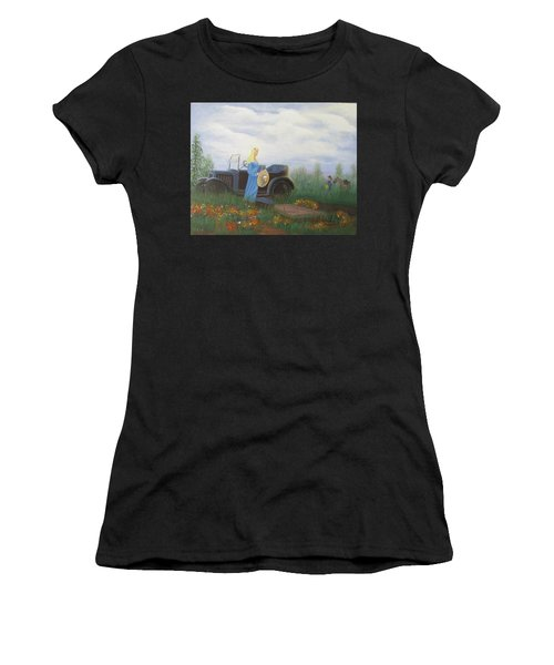 Waiting For A Picnic Women's T-Shirt