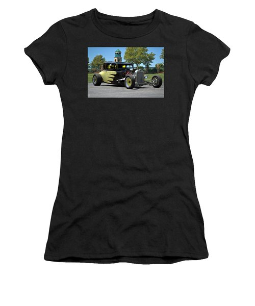1930 Ford Coupe Hot Rod Women's T-Shirt