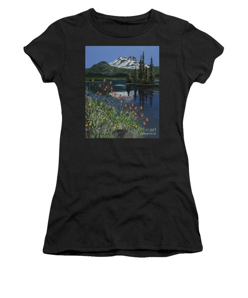 A Peaceful Place Women's T-Shirt (Athletic Fit)