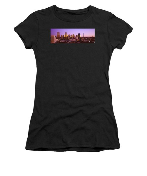 Dallas, Texas, Usa Women's T-Shirt (Junior Cut) by Panoramic Images