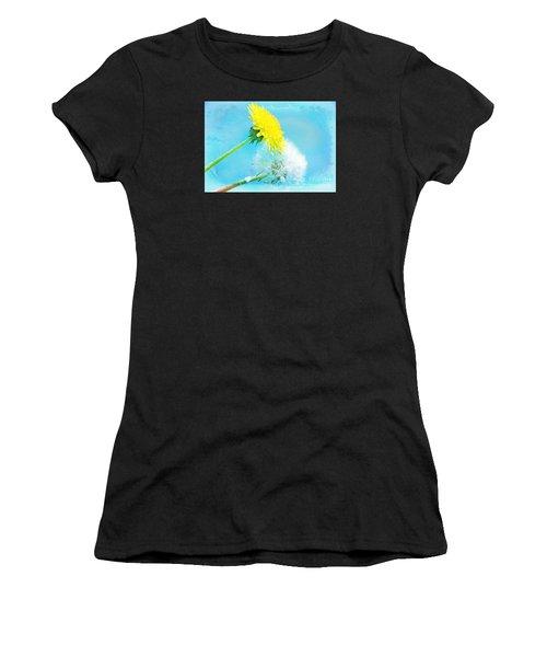 Dandelions Women's T-Shirt (Athletic Fit)