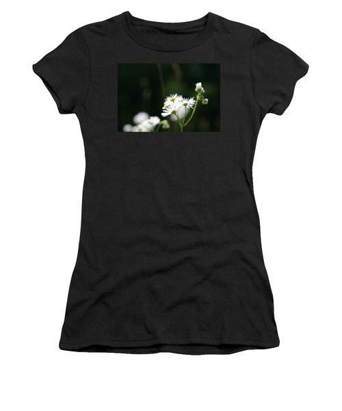 Women's T-Shirt (Junior Cut) featuring the photograph Enlightened  by Neal Eslinger