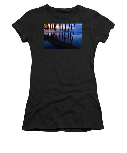 Oceanside Pier At Sunset Women's T-Shirt