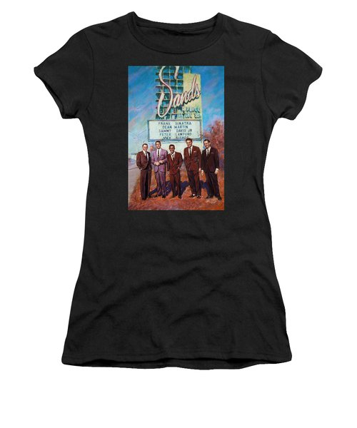 The Rat Pack Women's T-Shirt (Athletic Fit)