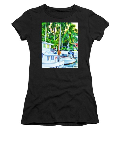 Two Boats Women's T-Shirt