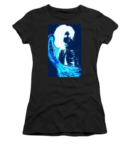When Heaven And Earth Collide 1 Women's T-Shirt (Athletic Fit)