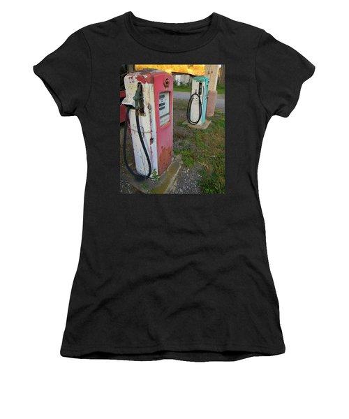 33 Cents Per Gallon Women's T-Shirt (Athletic Fit)