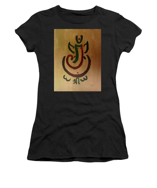 33 Rakta Ganesh Women's T-Shirt (Athletic Fit)