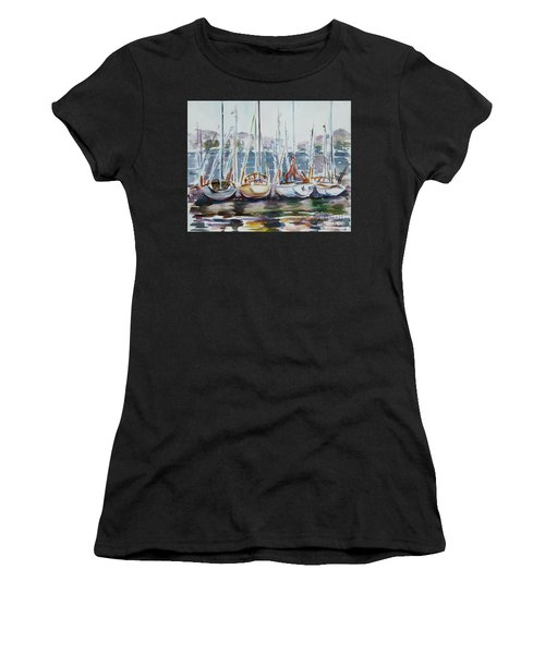 4 Boats Women's T-Shirt