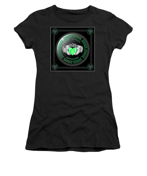 Claddagh Ring Women's T-Shirt (Athletic Fit)