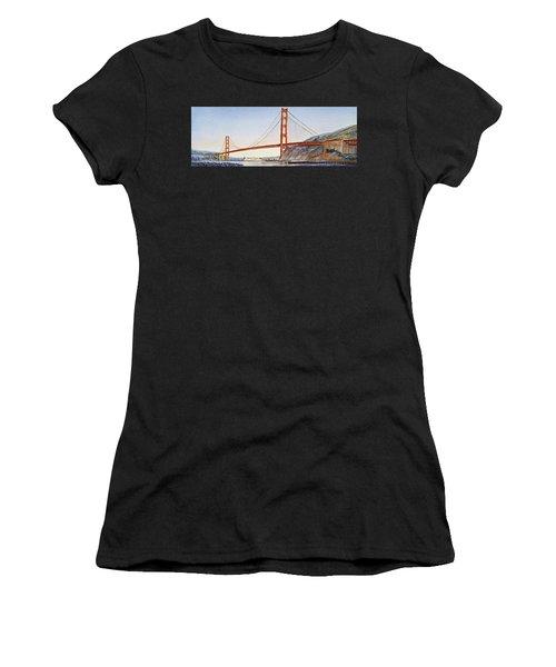 Golden Gate Bridge San Francisco Women's T-Shirt
