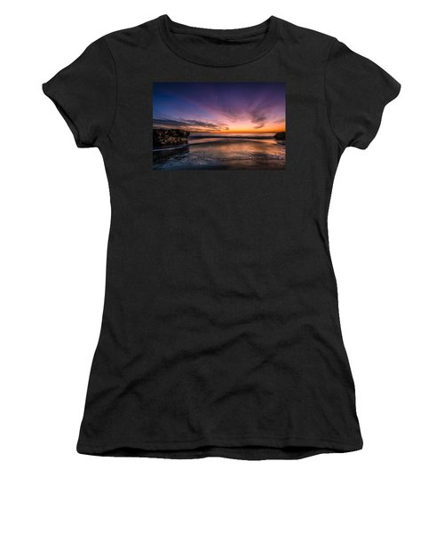 4 Mile Beach Sunset Women's T-Shirt (Athletic Fit)