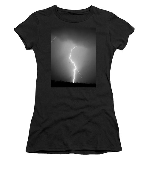 Our 1st Severe Thunderstorms In South Central Nebraska Women's T-Shirt