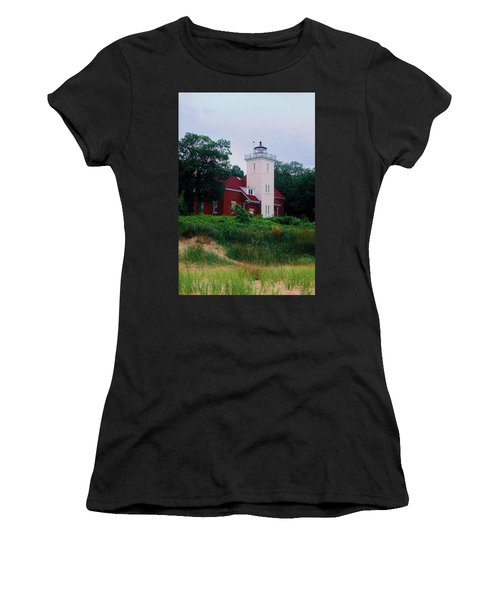 Women's T-Shirt (Junior Cut) featuring the photograph 40 Mile Light by Daniel Thompson