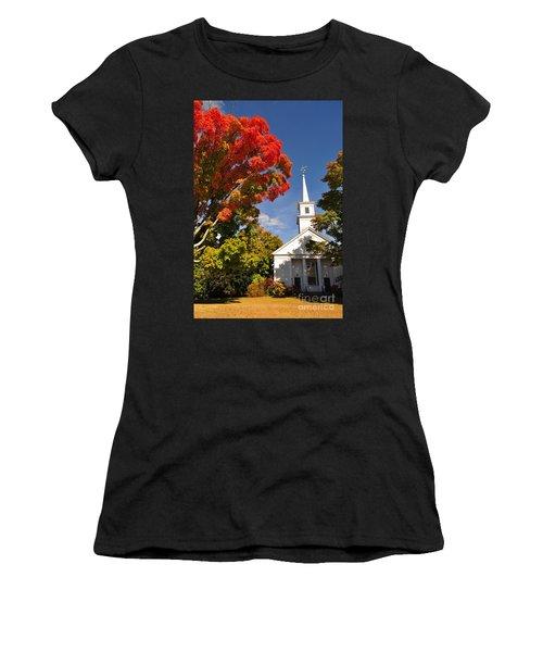 Lunenburg, Ma - Fall Foliage Women's T-Shirt