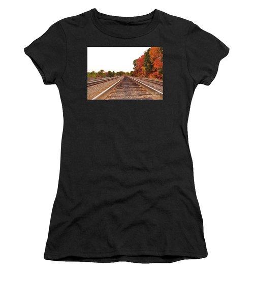 Fall Foliage In New England Women's T-Shirt