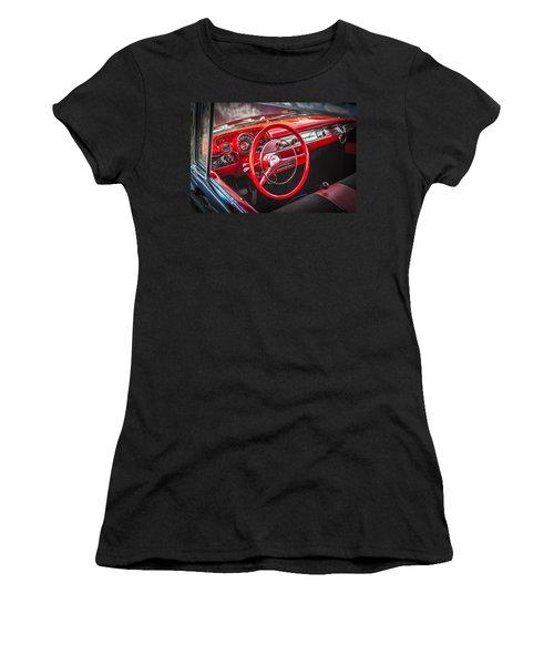 1957 Chevrolet Bel Air Women's T-Shirt