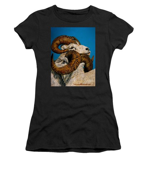 Horns Women's T-Shirt (Athletic Fit)
