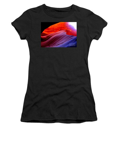 light symphony of Antelope canyon Women's T-Shirt