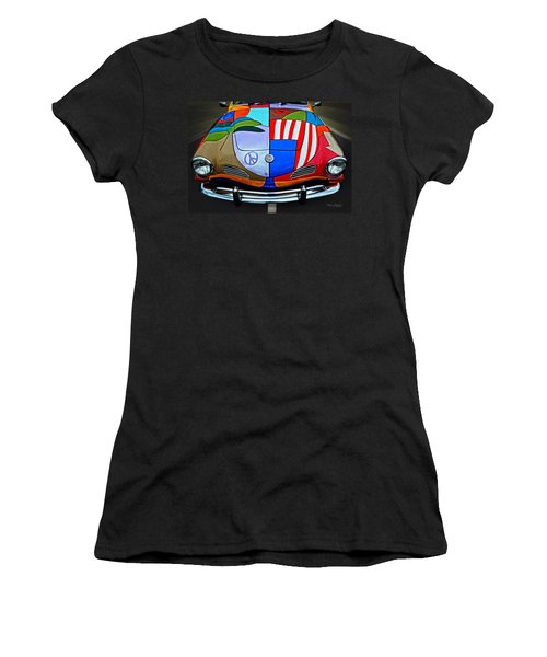 60s Wild Ride Women's T-Shirt (Junior Cut) by Mary Machare