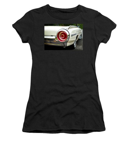 62 Thunderbird Tail Light Women's T-Shirt (Junior Cut) by Jerry Fornarotto