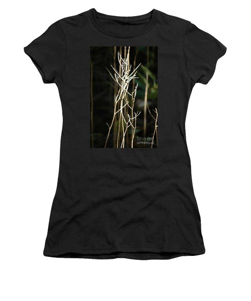 Women's T-Shirt (Athletic Fit) featuring the photograph Autumn Light by Christiane Hellner-OBrien