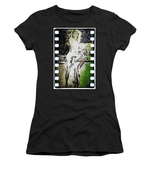 '77 Farrah Fawcett Women's T-Shirt (Athletic Fit)