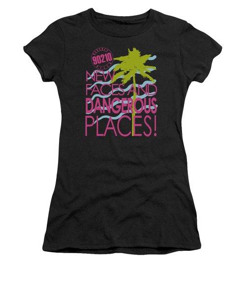 90210 - Tagline Women's T-Shirt (Athletic Fit)