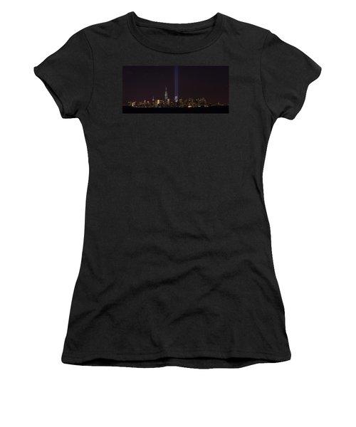 9.11.2014 Women's T-Shirt (Junior Cut) by Kenneth Cole