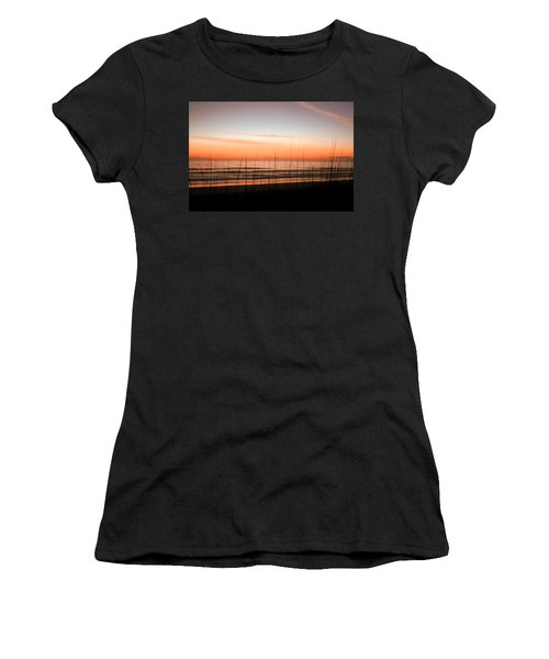 A Beachwork Orange Women's T-Shirt (Athletic Fit)