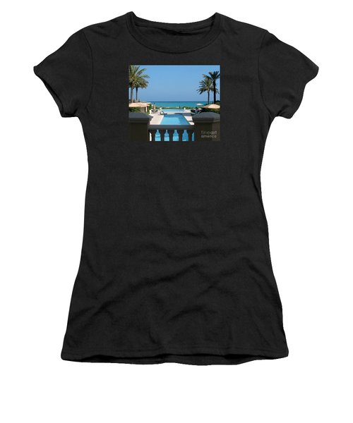 A Beautiful View Women's T-Shirt (Athletic Fit)