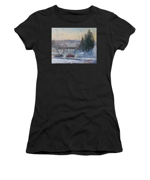 A Cold Morning Women's T-Shirt