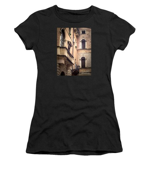 A Corner Of Vicenza Italy Women's T-Shirt (Athletic Fit)