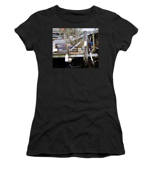 A Crab Fishermans Still Life Women's T-Shirt (Athletic Fit)