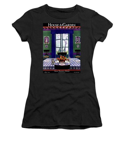 A French Provincial Dining Room Women's T-Shirt
