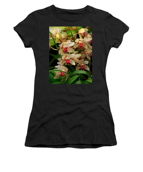 Women's T-Shirt (Junior Cut) featuring the photograph A Gathering by Rodney Lee Williams