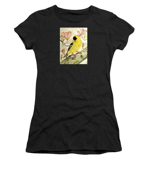 A Goldfinch Spring Women's T-Shirt