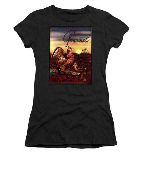 A Gourmet Cover Of A Turkey Women's T-Shirt