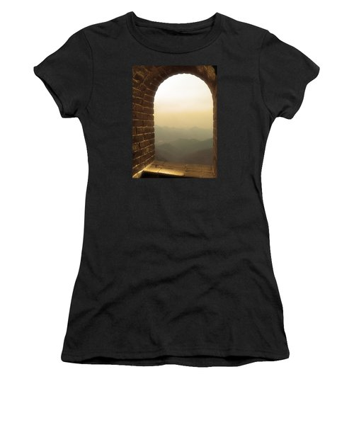 A Great View Of China Women's T-Shirt (Athletic Fit)