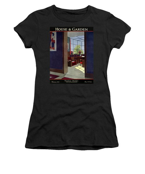A House And Garden Cover Of An Interior Women's T-Shirt