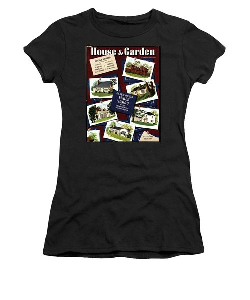A House And Garden Cover Of Houses Women's T-Shirt