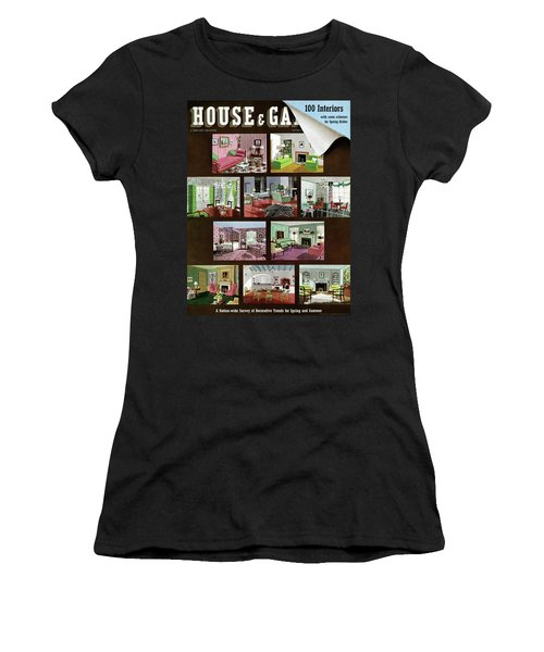 A House And Garden Cover Of Interior Design Women's T-Shirt