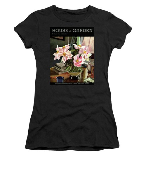 A House And Garden Cover Of Rhododendrons Women's T-Shirt