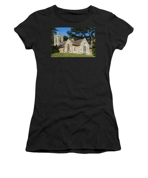 Women's T-Shirt (Junior Cut) featuring the photograph A Little Church In Warwickshire by Linsey Williams