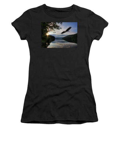 A New Beginning Women's T-Shirt (Junior Cut) by Lori Deiter