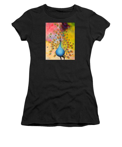 A Peculiar Peacock Women's T-Shirt (Athletic Fit)