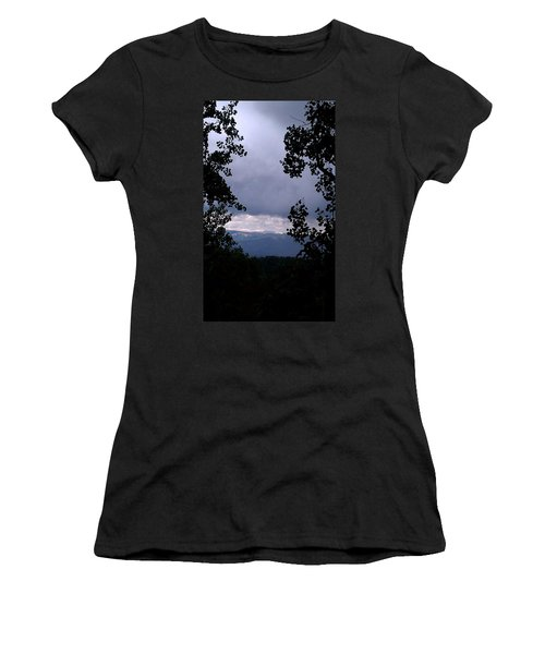 Women's T-Shirt (Junior Cut) featuring the photograph A Peek At Heaven by Fortunate Findings Shirley Dickerson