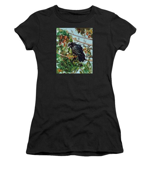A Perch For Nevermore Women's T-Shirt (Athletic Fit)